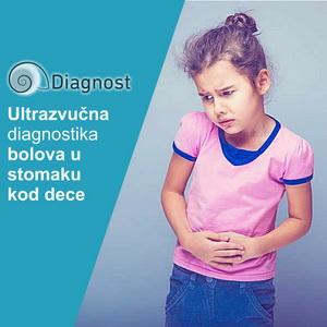 Ultrazvučna diagnostika bolova u stomaku kod dece