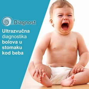 Ultrazvučna diagnostika bolova u stomaku kod beba